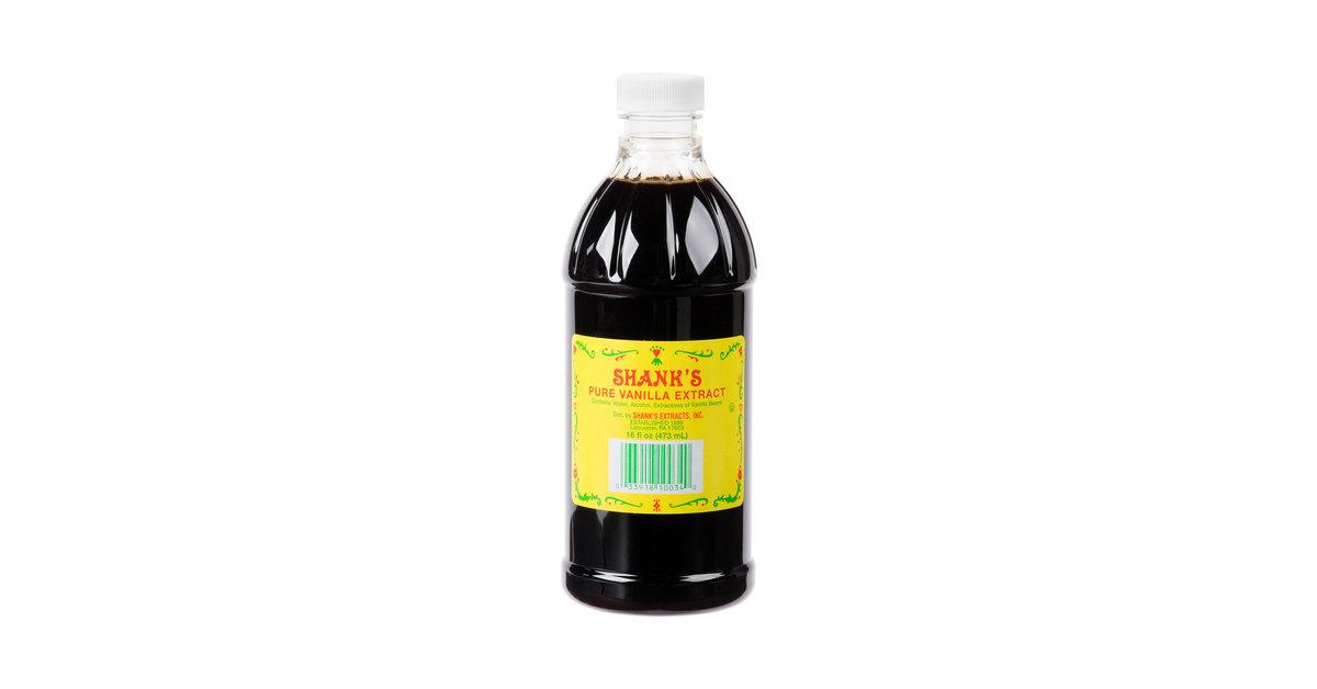 Shank's Premium 16 oz  Pure Vanilla Extract