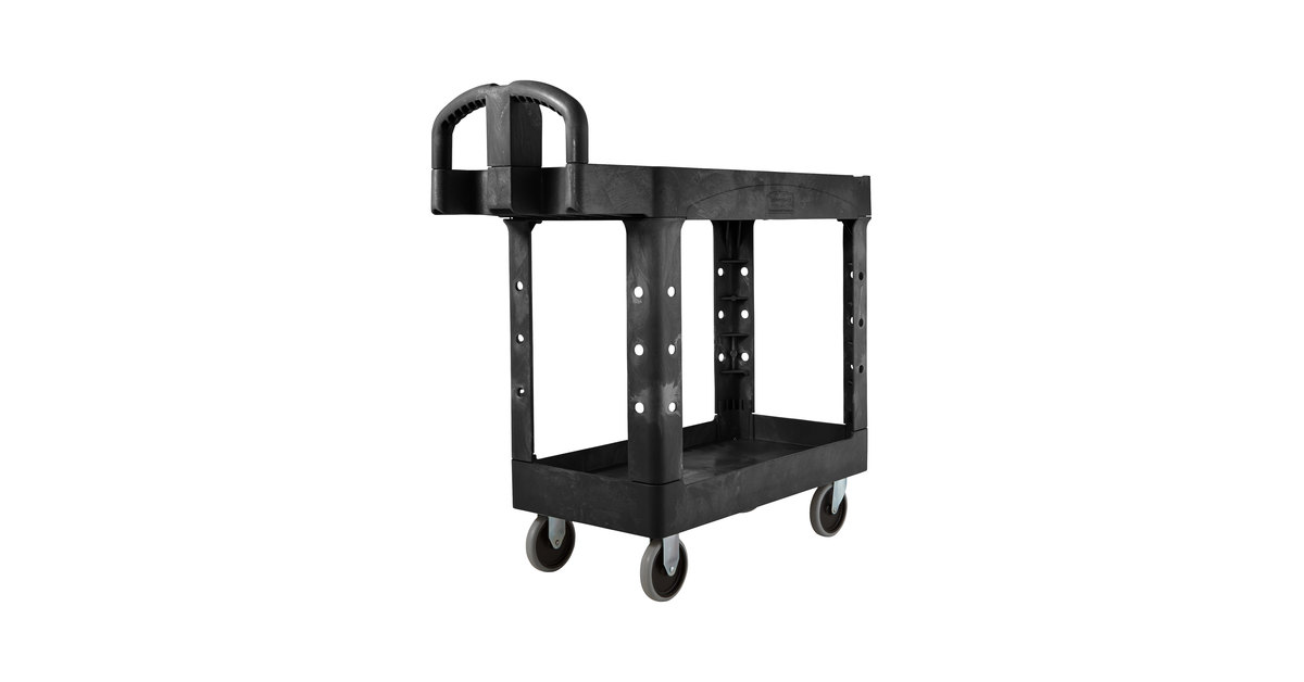 Werkstattausrüstung Heavy-Duty Utility Cart with Customizable Fittings Storage Portable Organizer