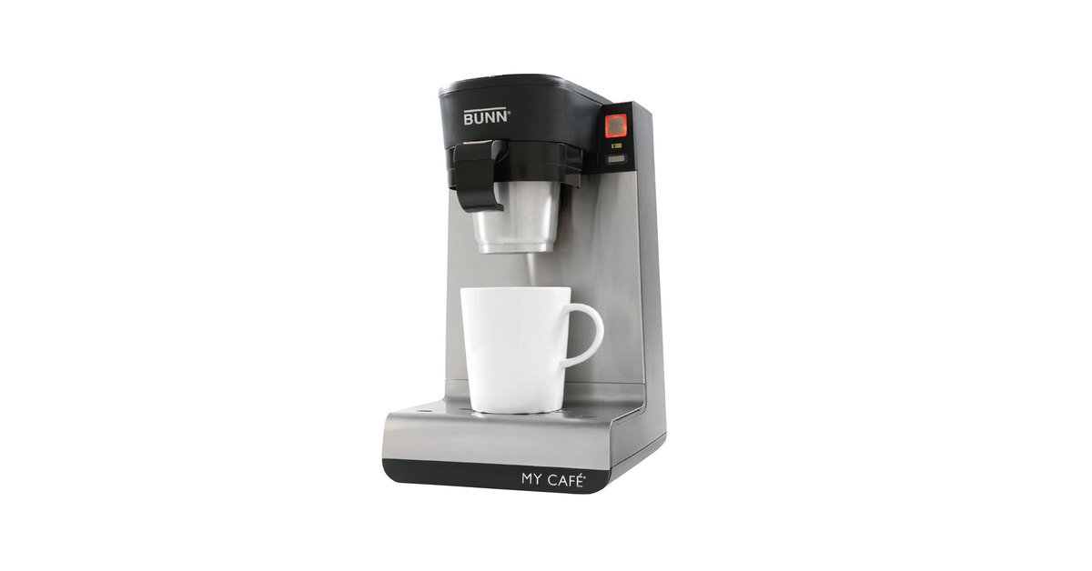 Bunn 429000301 Mcu My Cafe Pourover 4 In 1 Residential Coffee