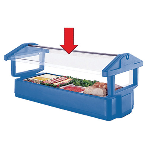 Cambro 47242 6' Sneeze Guard Panel for 6UBR, 6FBR, 6FBRTT, and 6FBRSL Food Bars at Sears.com