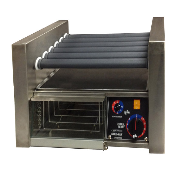 Star 230 Volts (International) Star 14SCBBC Grill Max 14 Hot Dog Roller Grill with Duratec Non-Stick Rollers and Bun Drawer at Sears.com