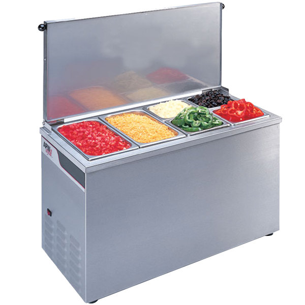APW Wyott CTCW-43 Countertop Cold Food Well