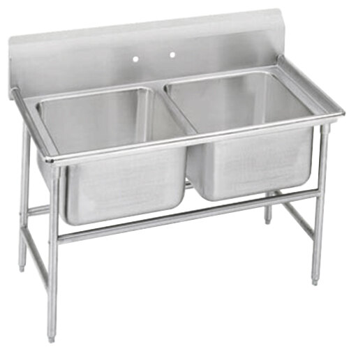Advance Tabco 94-2-36 Spec Line Two Compartment Pot Sink - 44""