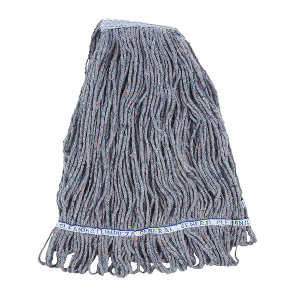 gray cotton mop head