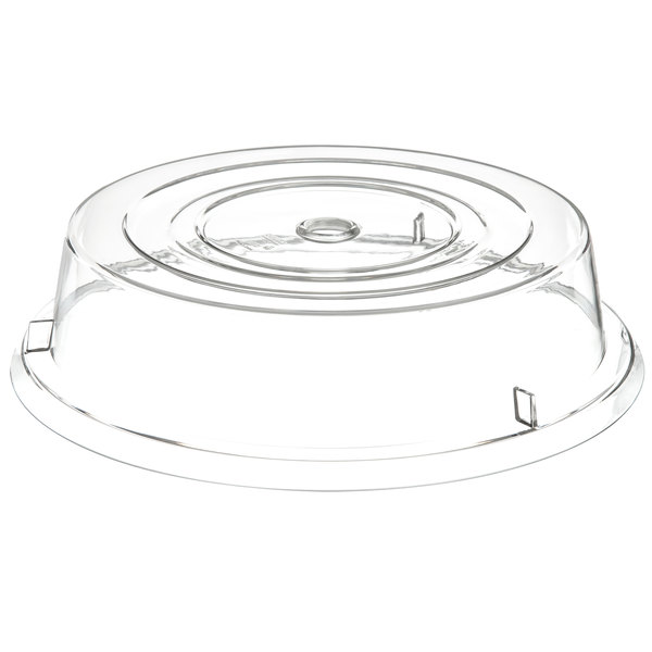 "Carlisle 199307 11"" Clear Plate Cover - 12/Case"