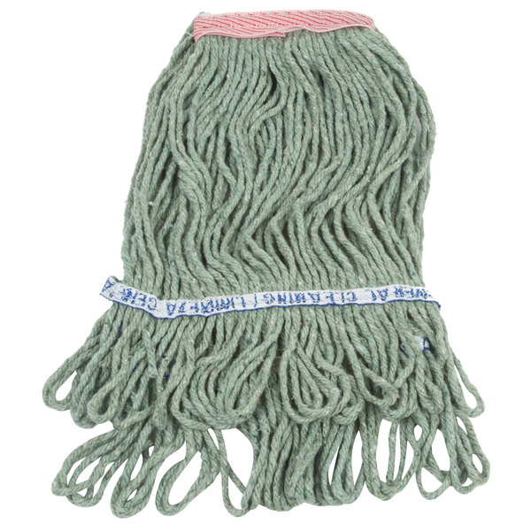 white poly-cotton mop head
