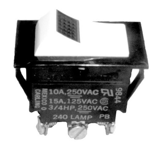 All Points 42-1242 On  Off  On Lighted Rocker Switch