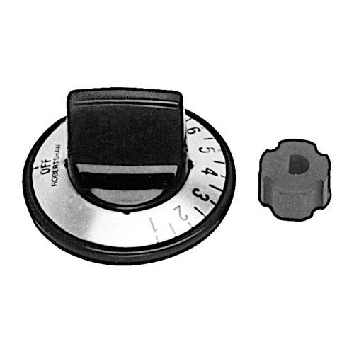 "All Points 22-1120 2"" Warmer Thermostat Dial Kit (Off, 1-10)"