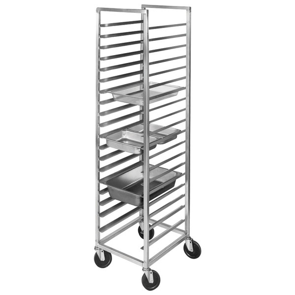 Channel ETPR-3E Aluminum Steam Table Pan Rack (19 Pan Capacity)