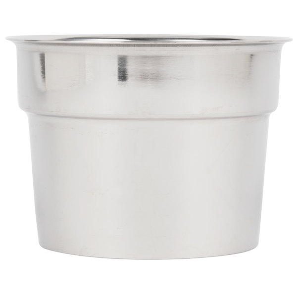 "Malt Cup Collar for 3 3/8"" Cups - Stainless Steel with 3 5/8"" Top Diameter"