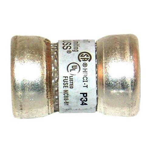 "Bussmann JJN-60 Equivalent 9/16"" x 7/8"" 60 Amp Very Fast Acting T-Tron Space Saver Fuse - 300V"