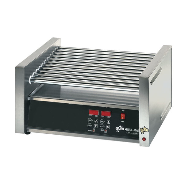 Star 120 Volts Star Grill Max Pro 30CE 30 Hot Dog Roller Grill with Electronic Controls and Chrome Plated Rollers at Sears.com