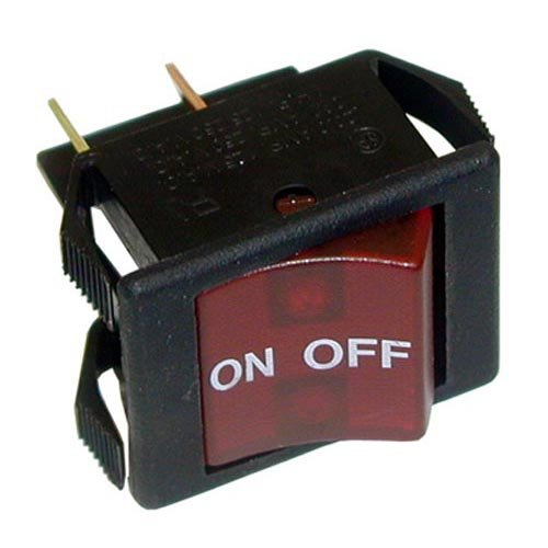 All Points 42-1412 On/Off Lighted Rocker Switch - 16A/250V, 20A/125V