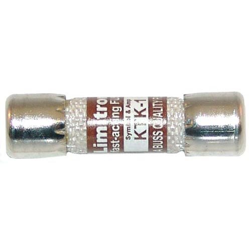 "All Points 38-1429 13/32"" x 1 1/2"" 1A Fast Acting KTK-1 Glass Fuse - 600V"