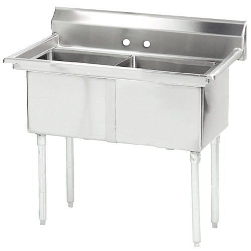 Commercial Sinks Australia : ... Compartment Stainless Steel Commercial Sink without Drainboard - 37