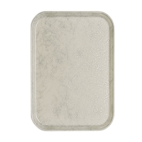 "Cambro 1116531 10 7/8"" x 15 7/8"" Galaxy Silver Antique Parchment Insert for 1622 Fiberglass Camtray - 24 / Case"
