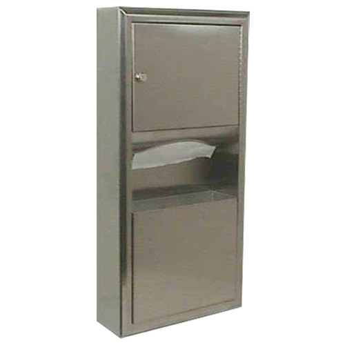 Bobrick B-3699 ClassicSeries Surface Mounted Paper Towel Dispenser / Waste Receptacle
