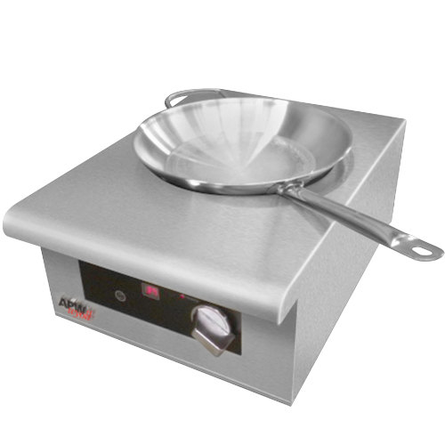 APW Wyott IWK-1 Champion Countertop Induction Wok Range - 3000W
