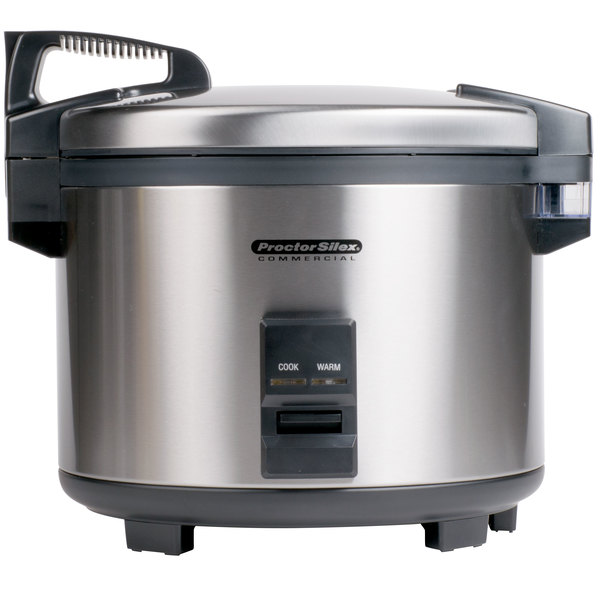 120 Volts Proctor Silex 37560R 60 Cup (30 Cup Raw) Electric Rice Cooker /  Warmer ...