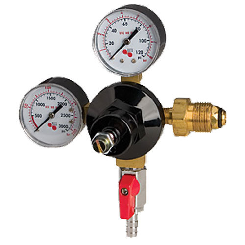 High Pressure Regulator : Micro matic bn economy series double gauge primary