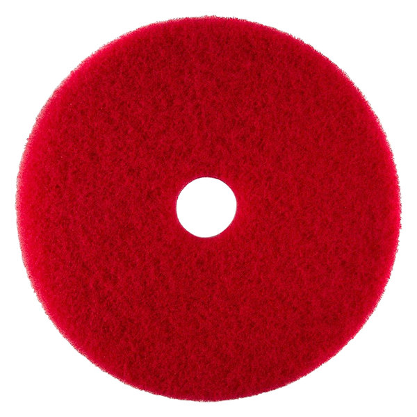 "Scrubble by ACS 51-20 Type 55 20"" Red Buffing Floor Pad"