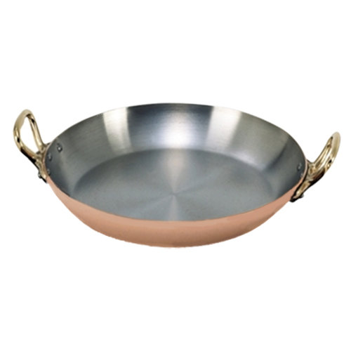 De Buyer 6449.20 Copper Paella Pan - 8""