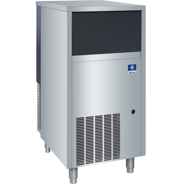 "Manitowoc RF-0266A 19 3/4"" Air Cooled Undercounter Flake Ice Machine with 60 lb. Bin - 181 lb."