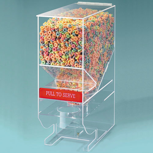 Cal-Mil 642 13.5 Qt. Portion Control Acrylic Cereal Dispenser