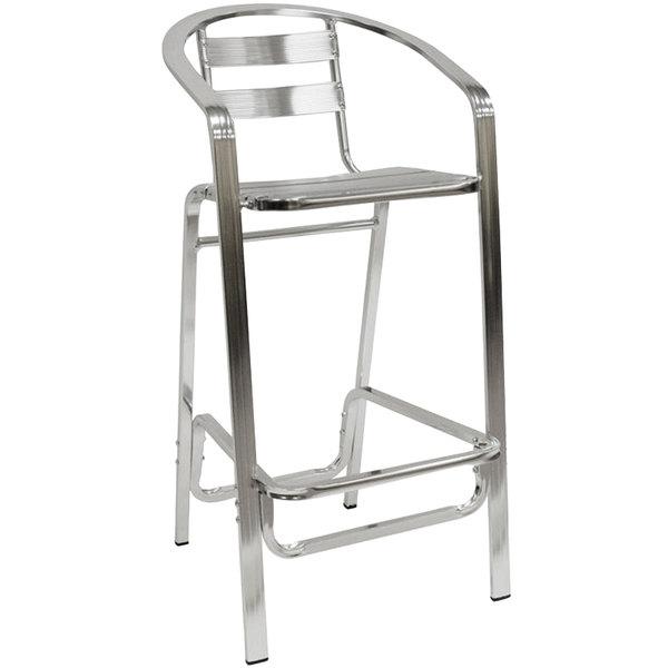 American Tables Amp Seating 55bs Aluminum Bar Stool Slat
