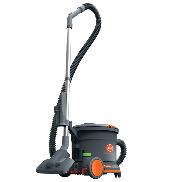 hoover ch32008 95 qt hush tone commercial canister vacuum cleaner 120v - Canister Vacuums