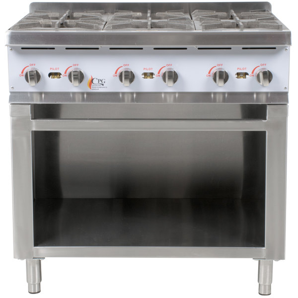 thor kitchen hrg4804u 48 in 6 burner gas range with double oven cooking performance group hot plate cabinet base wolf gr366 burners griddle