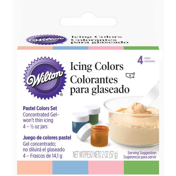 pastel food color