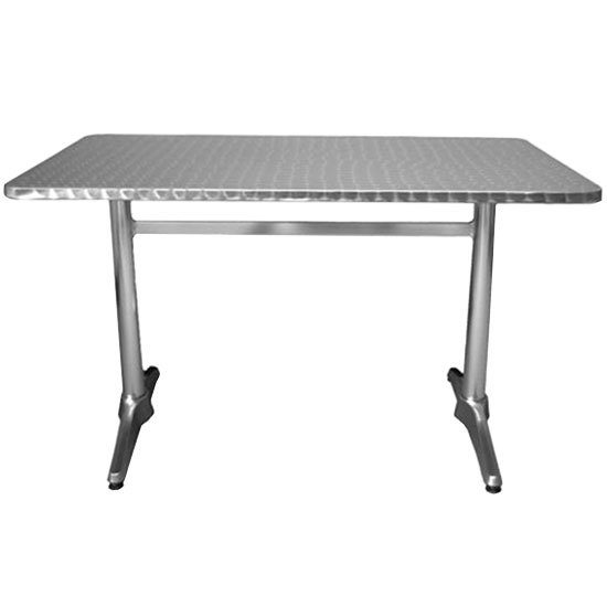 Rectangular Aluminum Table Main Picture