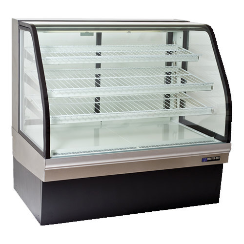 Master Bilt Cgb 77 77 Curved Glass Refrigerated Bakery