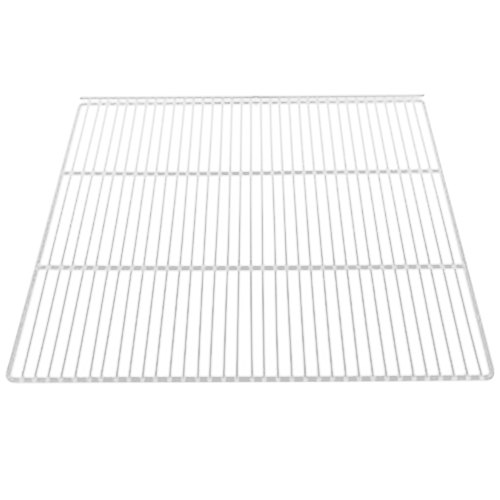"True 908793 White Coated Wire Shelf with 5"" Standoff - 22 7/8"" x 21 1/4"""