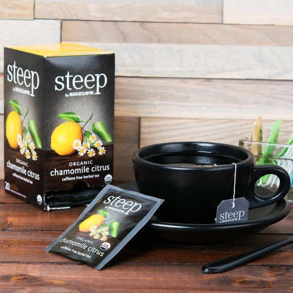 Steep By Bigelow Organic Chamomile Citrus Tea - 20/Box
