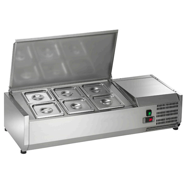 Arctic Air ACP40 40 Refrigerated Countertop Condiment Prep Station
