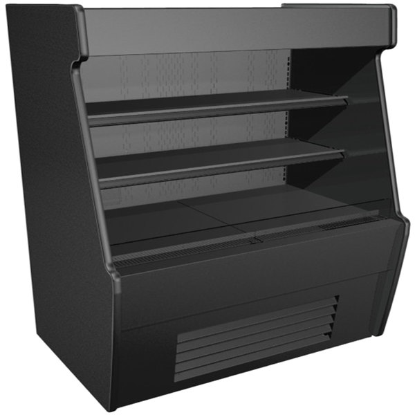 Structural Concepts CO65R-QS Black Horizontal Air Curtain Merchandiser