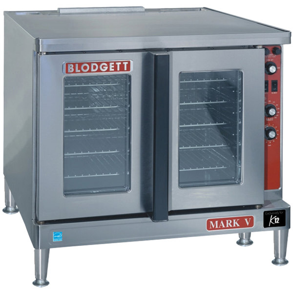 Blodgett Mark V-100 Premium Series Additional Model Full Size Electric Convection Oven - 208V, 3 Phase, 11 kW