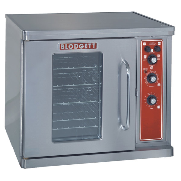 Blodgett CTB Premium Series Replacement Base Unit Half Size Electric Convection Oven with Left-Hinged Door - 220-240V, 1 Phase, 5.6 kW
