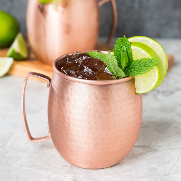 moscow mule mug with hammered copper finish - Mule Mug