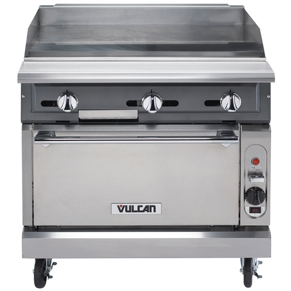 Stove With Griddle ~ Vulcan vgm c nat v series natural gas quot heavy duty