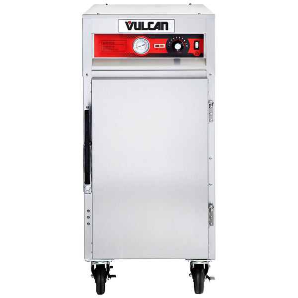 Vulcan VHP7 Half Size Narrow Depth Insulated Heated Holding Cabinet - 120V