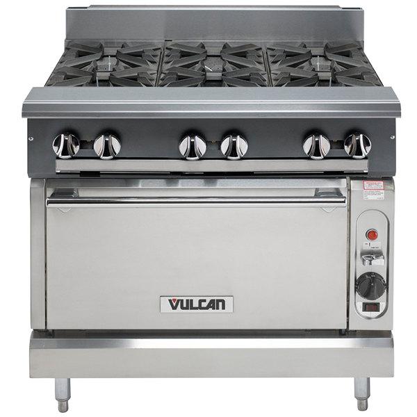 Vulcan V6B36C-LP V Series Liquid Propane 6 Burner 36\