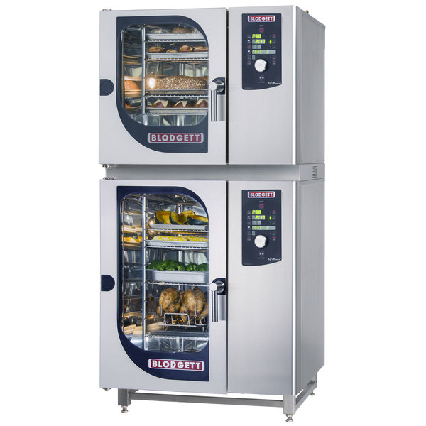 Blodgett BLCM-61-101E Double Boilerless Electric Combi Oven with Dial Controls - 480V, 3 Phase, 18 kW / 9 kW