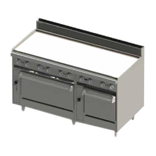 Double Oven Griddle ~ Blodgett br gt lp liquid propane quot thermostatic