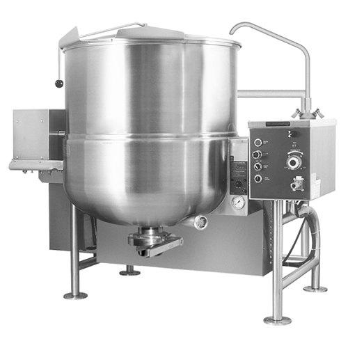 Cleveland Ha Mkgl 60 T Natural Gas 60 Gallon Tilting 2 3 Steam Jacketed Horizontal Mixer Kettle 190 000 Btu