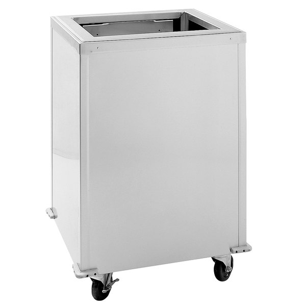 "Delfield T-1216 Enclosed Mobile Tray Dispenser for 12"" x 16"" Trays"