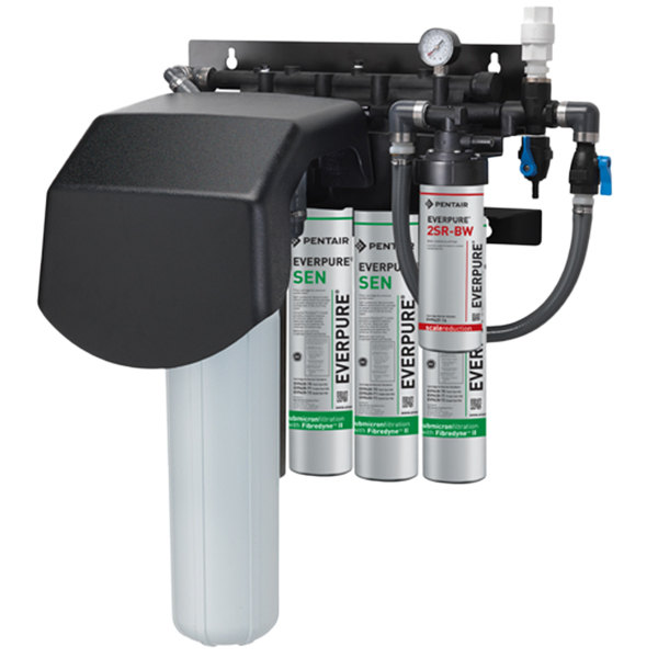 Everpure ev9437 32 endurance high flow quad water for Everpure filter system