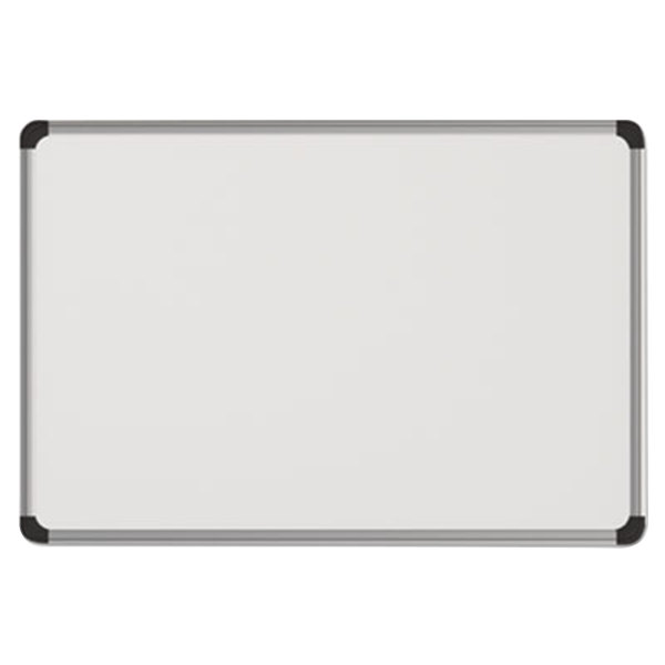 Metal Dry Erase Board : Universal unv quot white magnetic steel dry